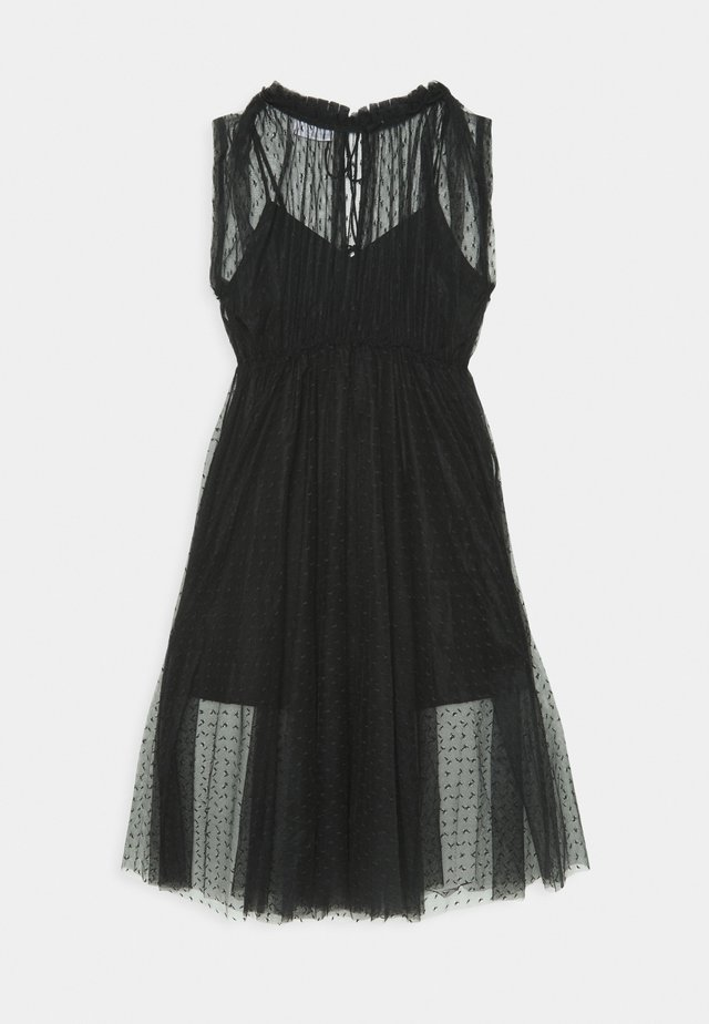 MIRA DRESS - Juhlamekko - black