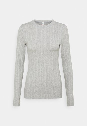 CHILLY NIGHTS LONG SLEEVE - Trui - heather grey