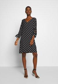 Esprit Collection - MATT SHINY - Day dress - black - 1