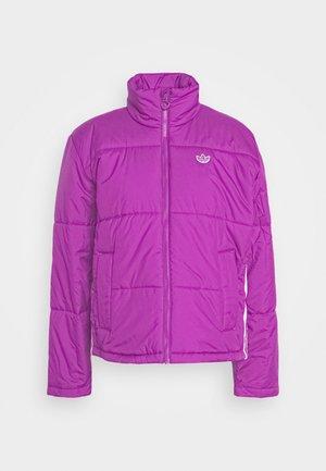 PUFFER WINTER MIDWEIGHT JACKET - Lehká bunda - shock purple