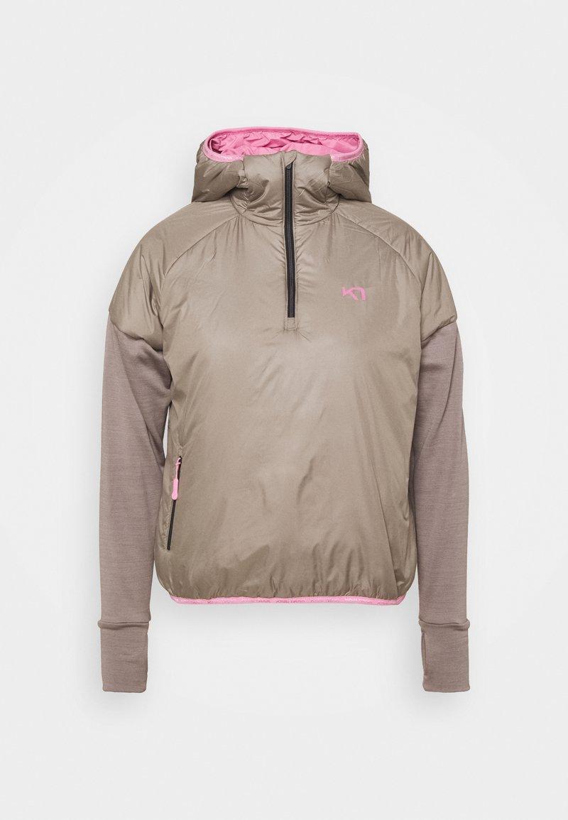 Kari Traa - SOLVEIG HYBRID - Outdoor jacket - clay