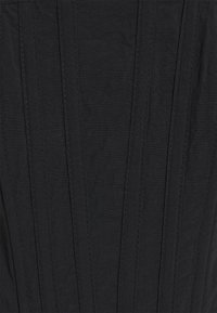 Missguided - CUT OUT CORSET DETAIL - Camiseta estampada - black - 2