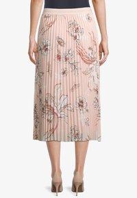 Betty Barclay - MIT BLUMENPRINT - Pleated skirt - rose/cream - 2