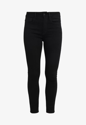 3301 HIGH SKINNY - Jeans Skinny Fit - ita black superstretch