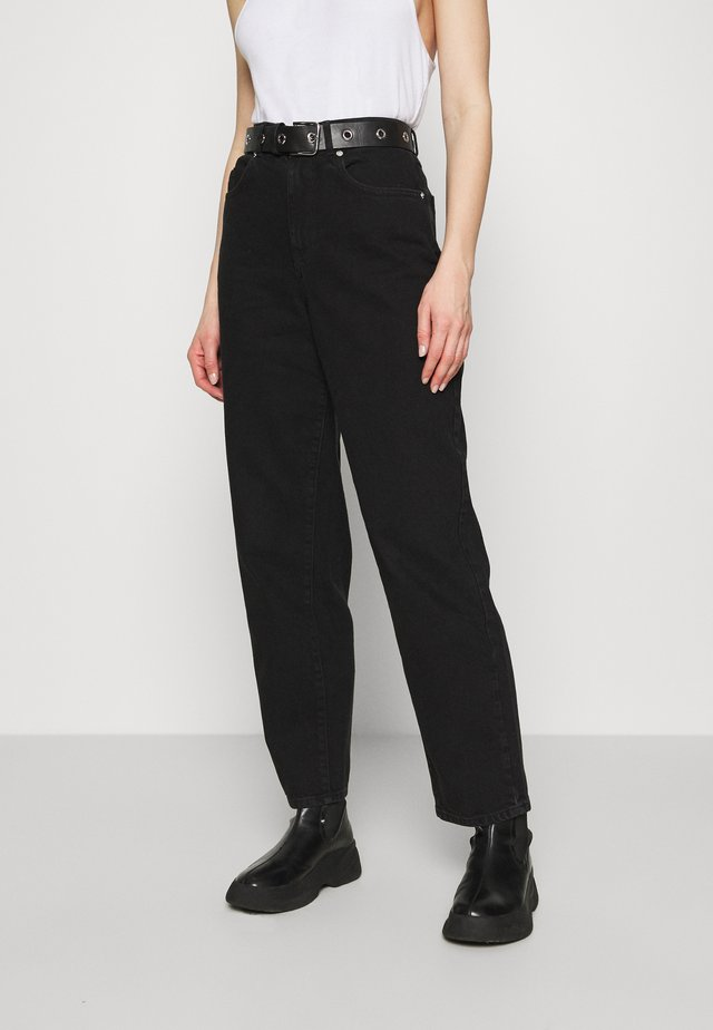 JEANS KIM - Jeansy Relaxed Fit - black
