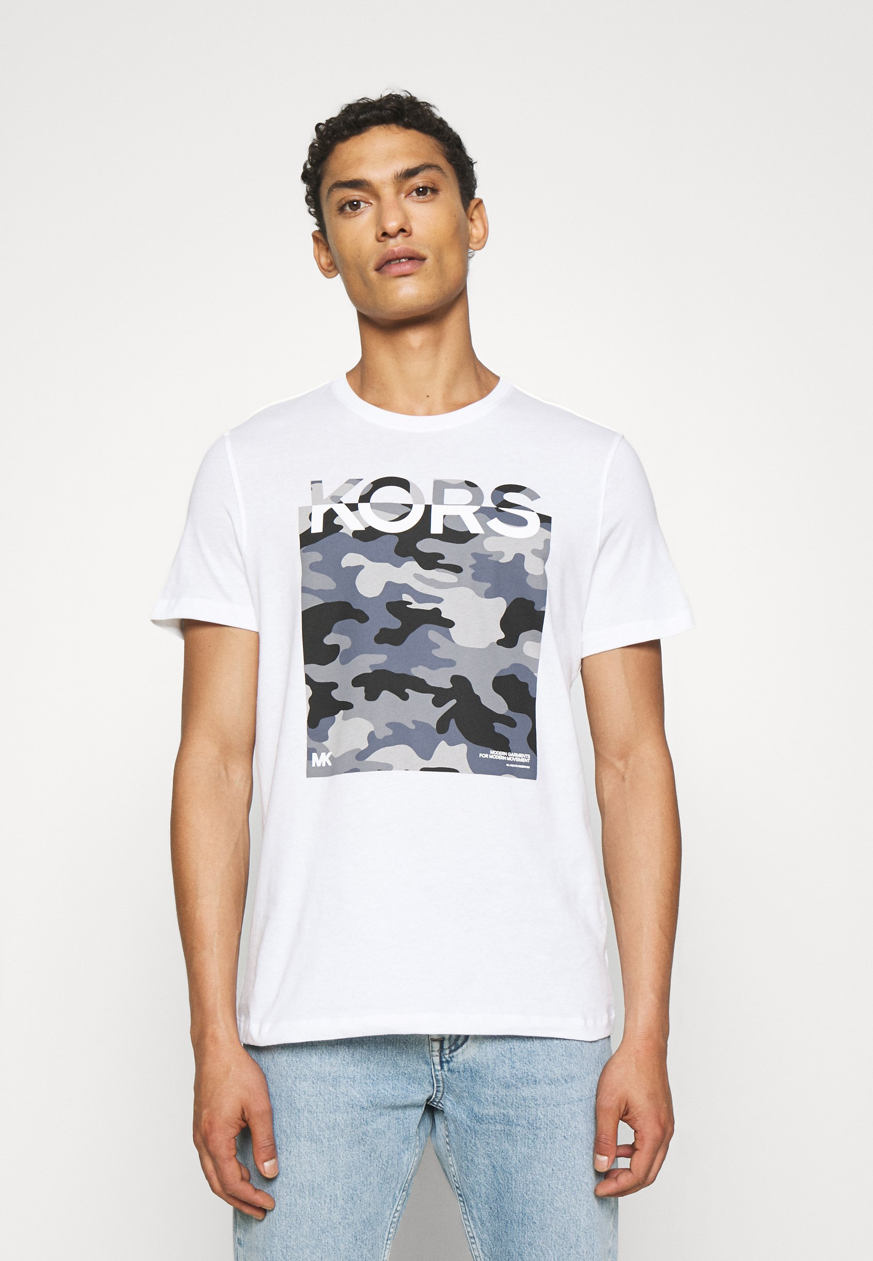 Men CAMO BLOCK - Print T-shirt