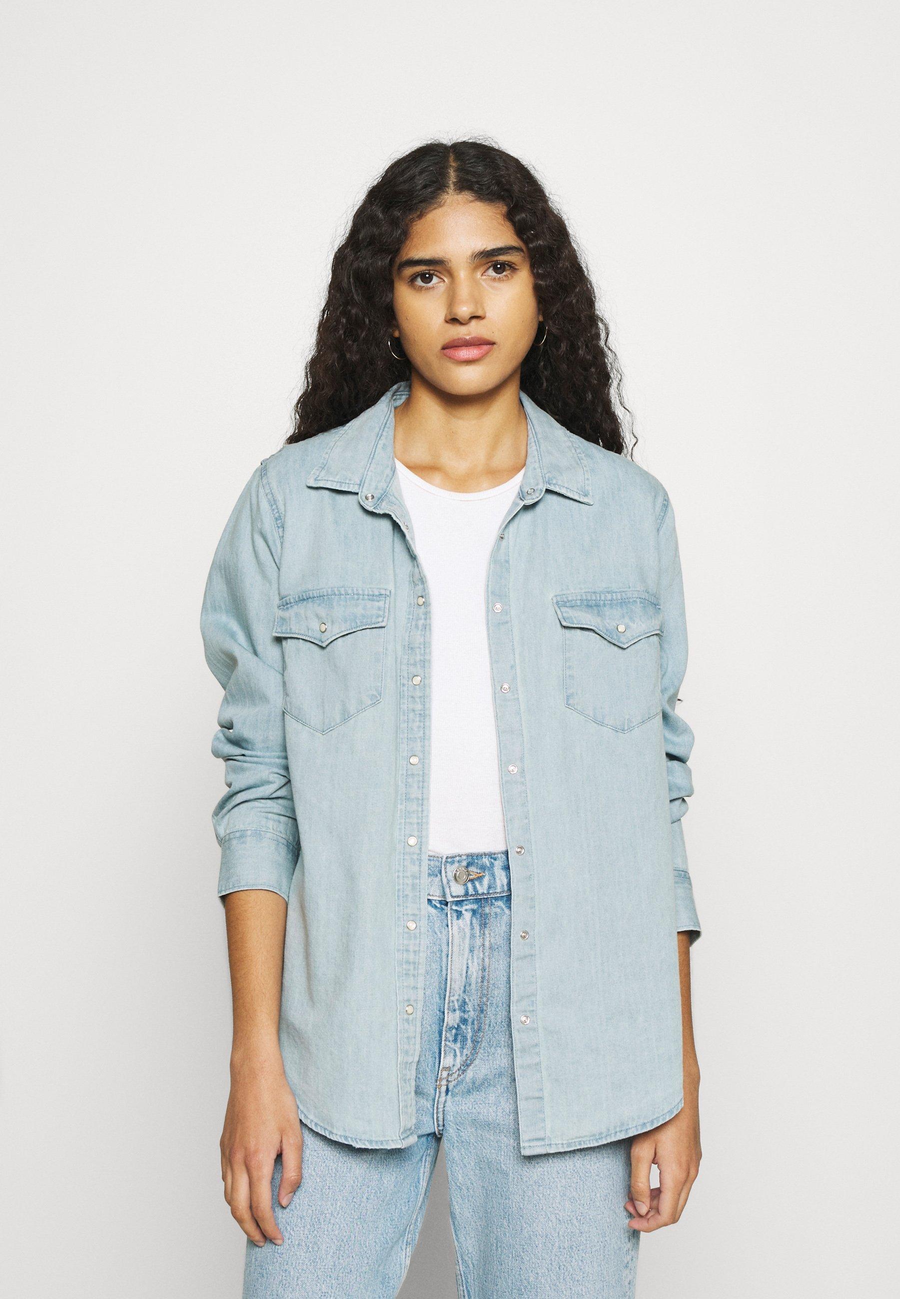 Women WESTERN BUTTONDOWN - Button-down blouse