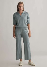 OYSHO - Polo shirt - grey - 1