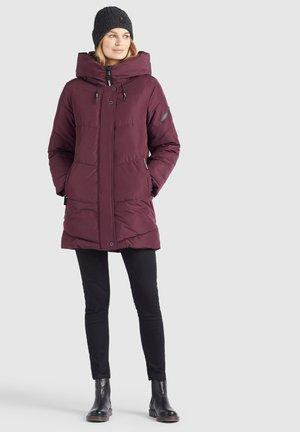 JORDIS2 - Winter coat - weinrot
