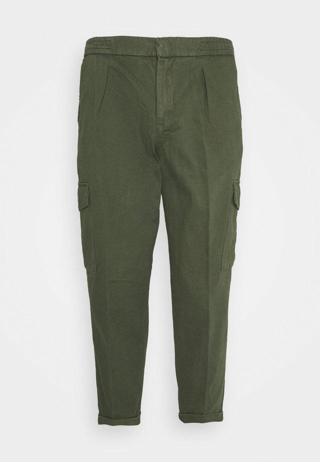 USJASPER CARGO PANTS - Cargo trousers - thyme