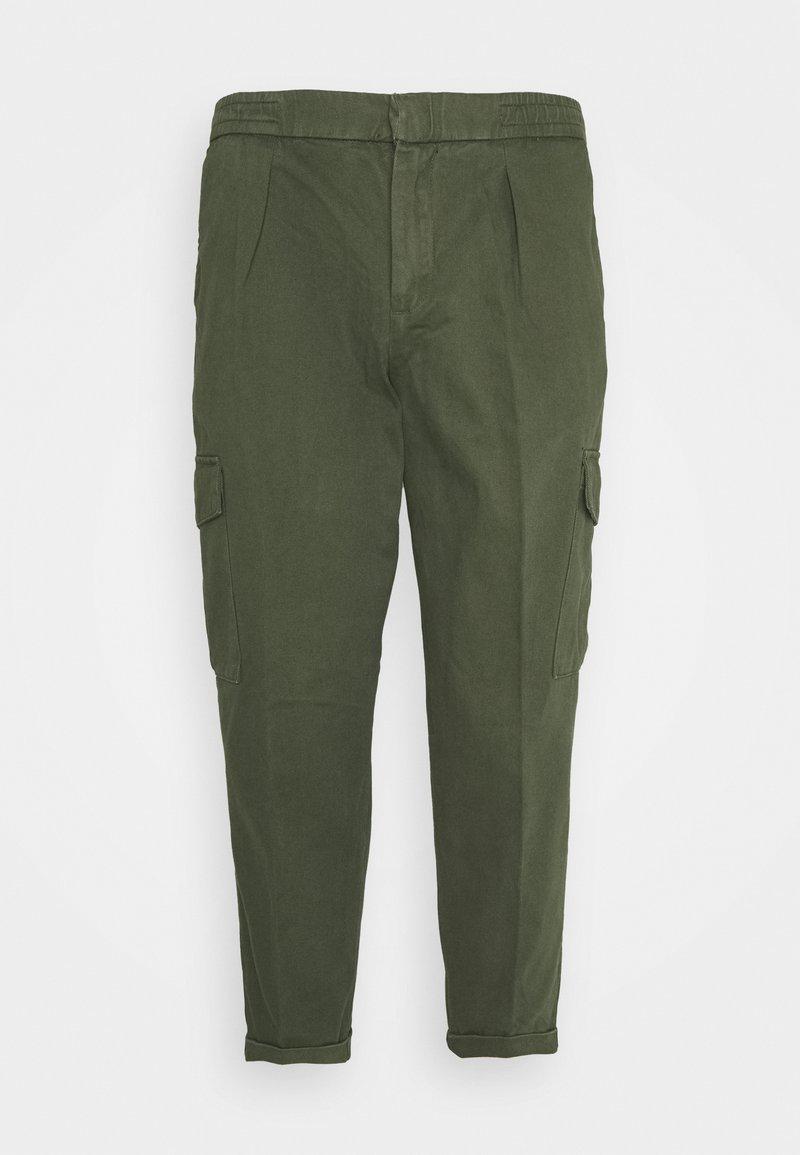 URBN SAINT - USJASPER CARGO PANTS - Pantaloni cargo - thyme