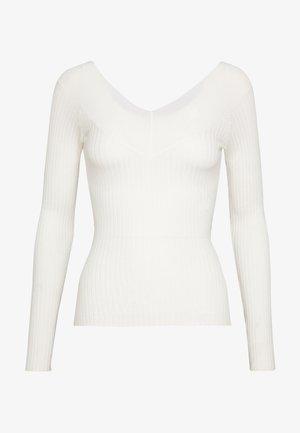 BARDOT NECKLINE - Jersey de punto - white