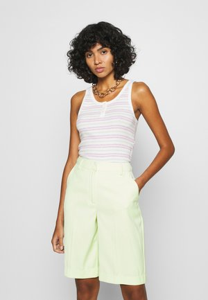 SUMMER TANK - Top - zoisite cloud dancer