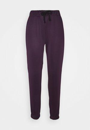 Spodnie treningowe - plum