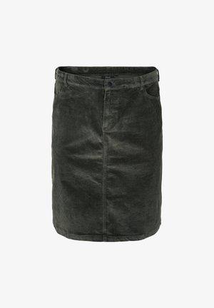 NEDERDEL I FLØJL - Pencil skirt - urban chic