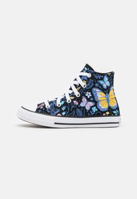 Converse - CHUCK TAYLOR ALL STAR BUTTERFLY FUN - Zapatillas altas - black/bleached cyan/pink gaze - 0