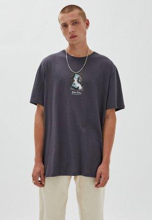 MIT WERK JUAN GRIS - Print T-shirt - black