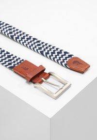 Slopes&Town - Braided belt - blue/white - 2