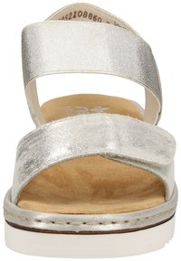 Rieker - Wedge sandals - silver/frost 90 - 5