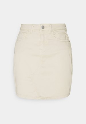 JDYLARA LIFE SHORT SKIRT  - Mini skirt - ecru