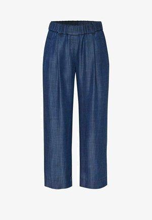 Trousers - darkblue