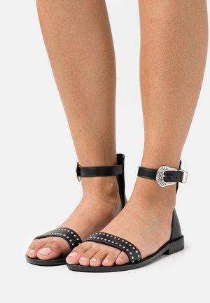EVER ALTA - Sandals - noir