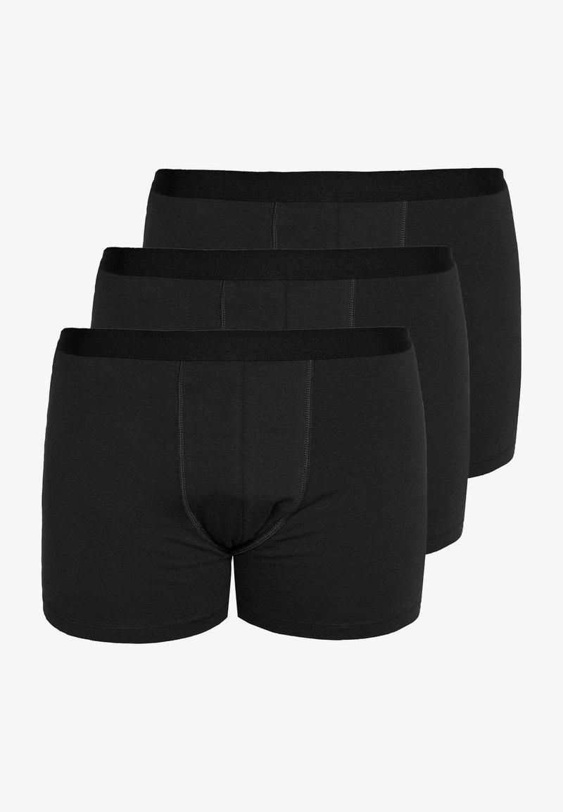 Pier One - 3 PACK - Shorty - black