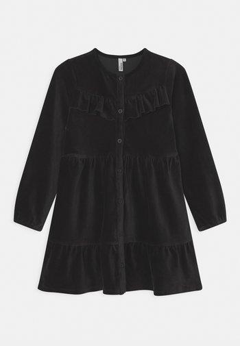 RICE BUTTON DRESS - Day dress - black