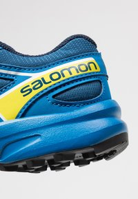 Salomon - SPEEDCROSS BUNGEE - Zapatillas de senderismo - poseidon/sky diver/sulphur spring - 5