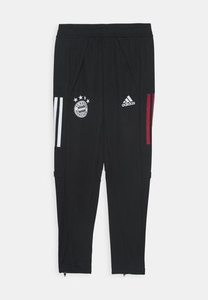 FC BAYERN MUENCHEN AEROREADY FOOTBALL PANTS - Club wear - black/red