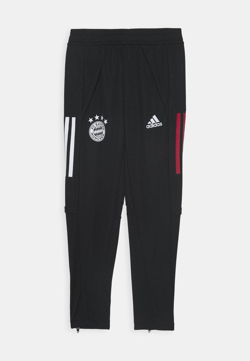 adidas Performance - FC BAYERN MUENCHEN AEROREADY FOOTBALL PANTS - Klubové oblečení - black/red