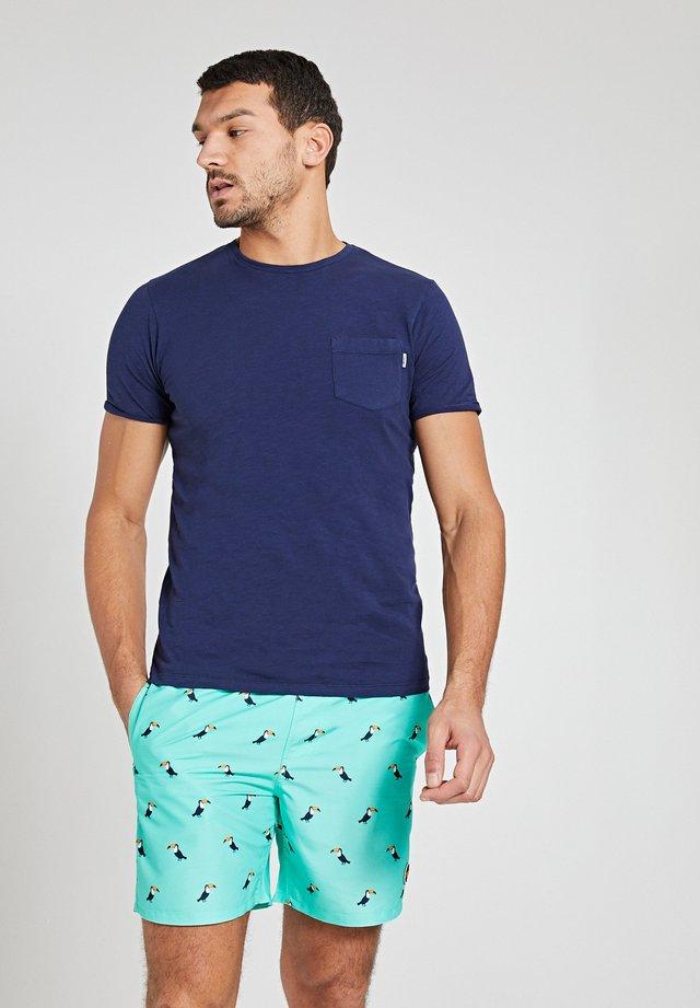 T-shirt imprimé - dark navy