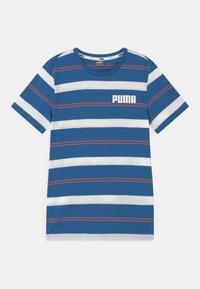 Puma - STRIPE UNISEX - Print T-shirt - star sapphire - 0