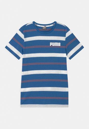 STRIPE UNISEX - Print T-shirt - star sapphire