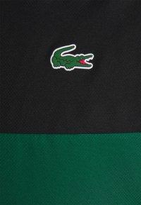 Lacoste Sport - TRACK JACKET - Training jacket - black/bottle green/white - 6