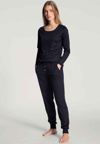 Calida - LANGARM - Pyjama top - darkk lapis blue - 1