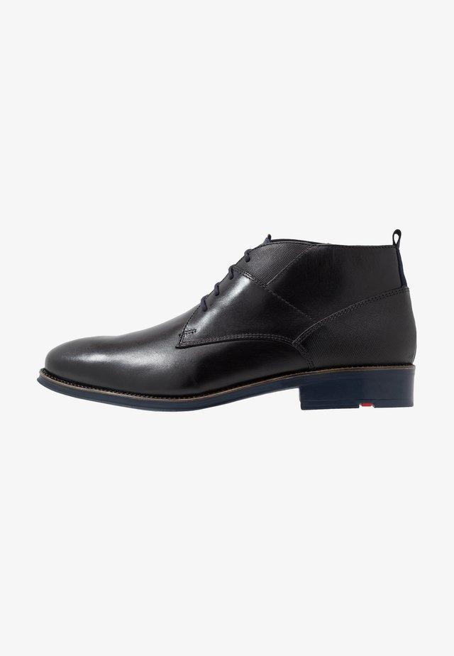 GRAHAM - Zapatos con cordones - schwarz/ocean