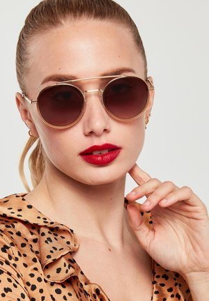 GEN - Sunglasses - gold/brown
