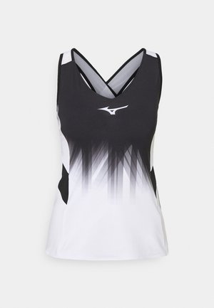 PRINTED TANK - Top - white/black