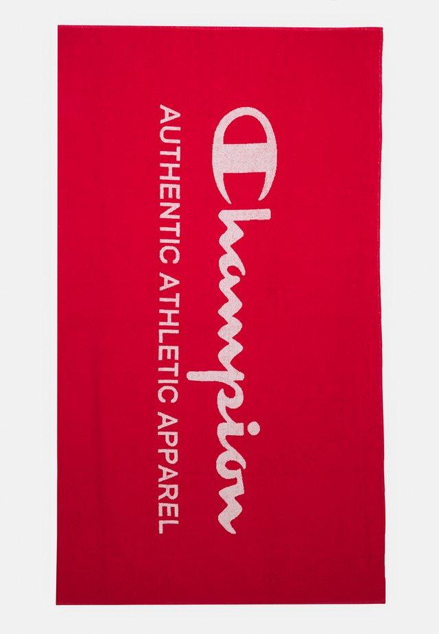 TOWEL LEISURE WEAR - Serviette de plage - red
