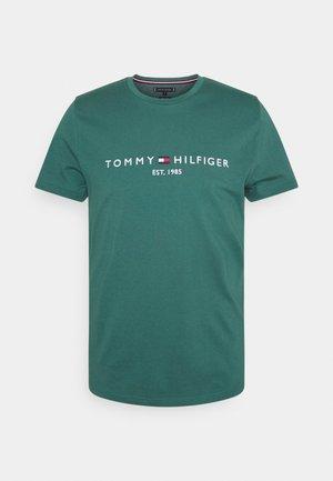 LOGO TEE - Print T-shirt - sea steel