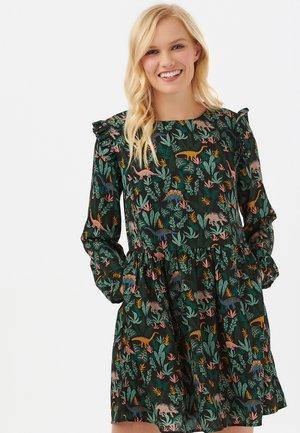 KIRSTEN LOST DINOSAURS SMOCK - Day dress - multi