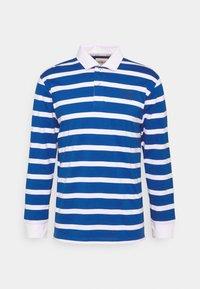 Newport Bay Sailing Club - BOLD STRIPE RUGBY - Polo shirt - light blue - 4
