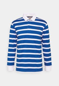 BOLD STRIPE RUGBY - Polo shirt - light blue