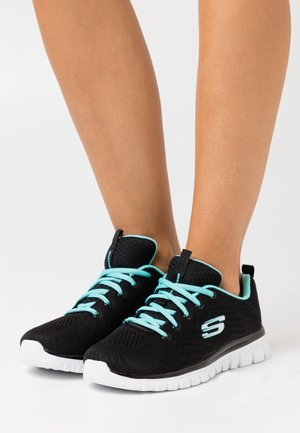 GRACEFUL - Zapatillas - black/turquoise