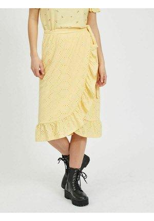 Wrap skirt - sunlight