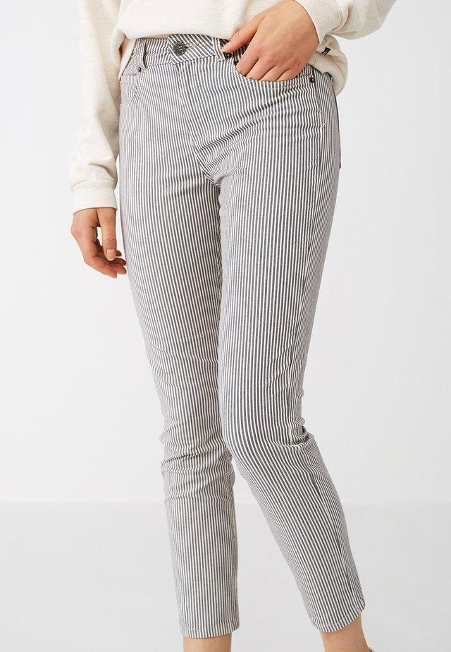 Jeans slim fit - blue/white stripe