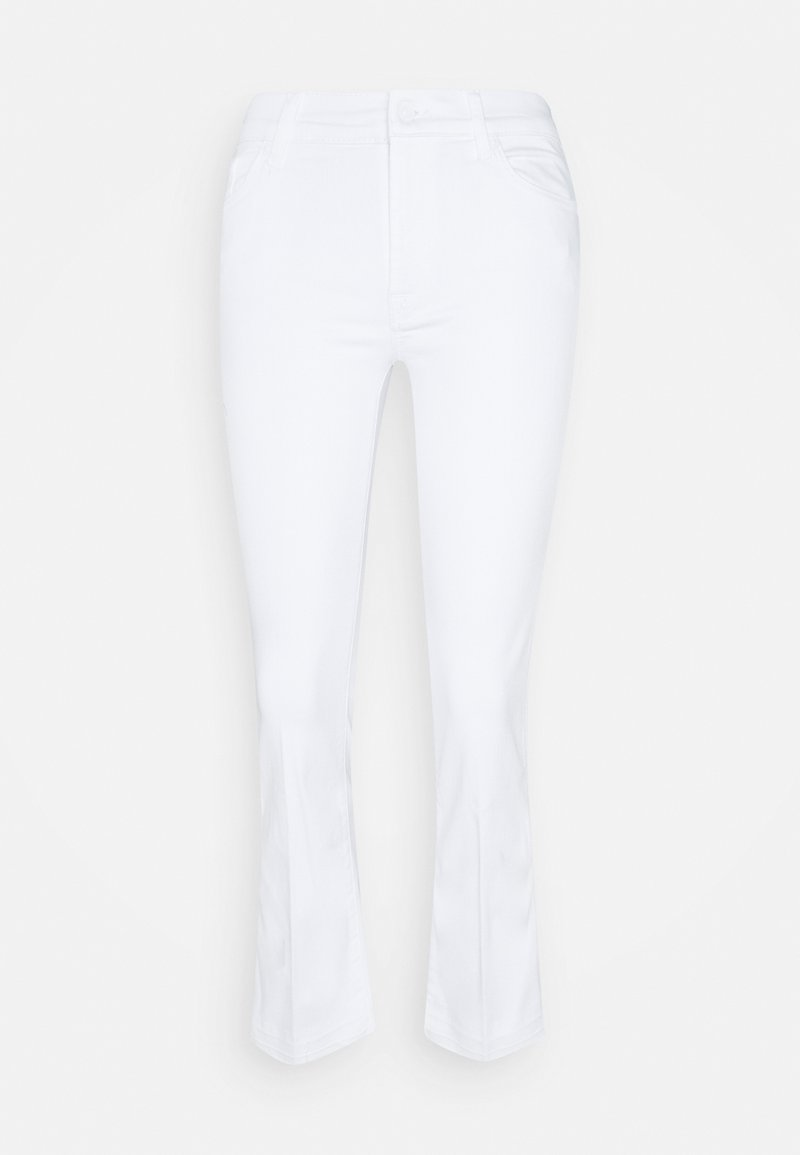 7 for all mankind - CROPPED UNROLLED - Bootcut jeans - pure white
