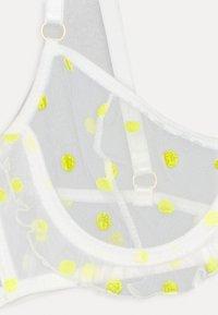 Le Petit Trou - JORDANE - Underwired bra - white/yellow - 2