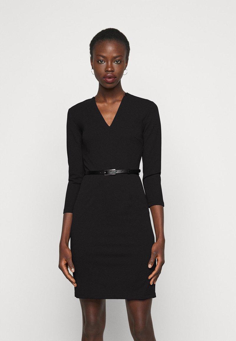 Anna Field Tall - Jerseykjole - black